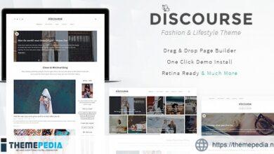 Discourse – Magazine & Blogging Theme [Free download]