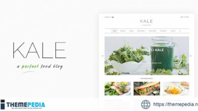 Kale – The Perfect Food and Personal Blog Theme [nulled]