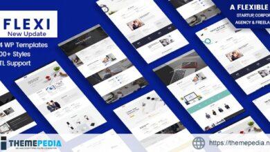 Flexible WordPress Theme – Flexi [Free download]