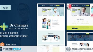 Dr.Changes – Doctor & Medical Clinic WordPress Theme [Free download]