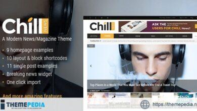 Chill News – Magazine Theme [Free download]