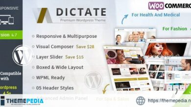 Dictate – Business, Fashion, Medical, Spa WP Theme [Latest Version]