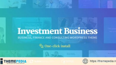Investment Business – Finance & Consulting WordPress Theme [nulled]