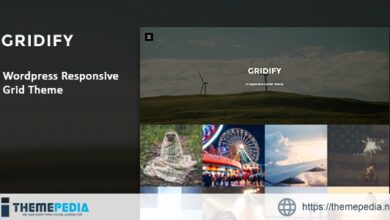 Gridify – Fullsceen Responsive Grid WP Theme [Free download]