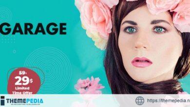 Garage – Creative & Magazine WordPress Theme [Free download]