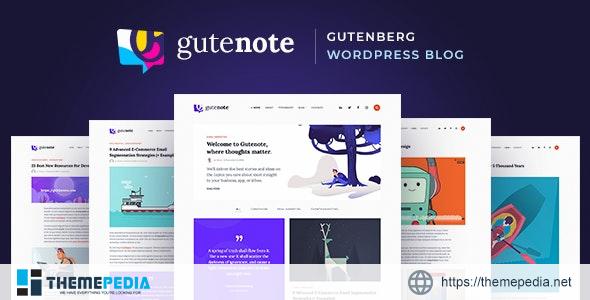Gutenote – Gutenberg Blog [Free download]