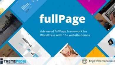 FullPage – Fullscreen One Page Theme [Free download]