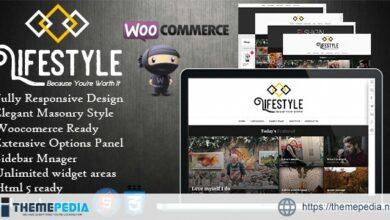 Lifestyle – Multipurpose Blog-Magazine Theme [Free download]