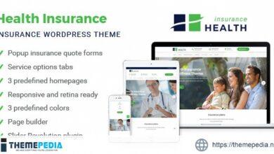 Health Insurance – Business WordPress Theme [Updated Version]