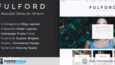 Fulford – Responsive WordPress Blogging Theme [Free download]