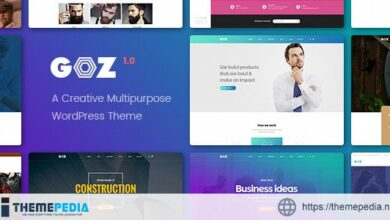 Goz – Creative Multipurpose WordPress Theme [Updated Version]