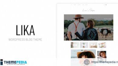 Lika's Style – Personal WordPress Blog Theme [Free download]