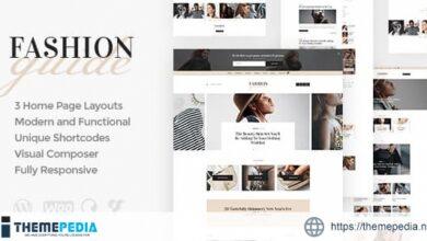 Fashion Guide – Online Magazine & Lifestyle Blog WordPress Theme [Free download]