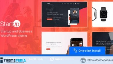 Startup Company – WordPress Theme for Business & Technology [Free download]