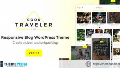 Cook Traveler – Responsive Blog WordPress Theme [nulled]