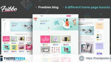 Fribbo – Freebies Blog WordPress Theme [Free download]