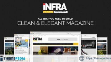 INFRA – Clean & Elegant Magazine Theme [Updated Version]