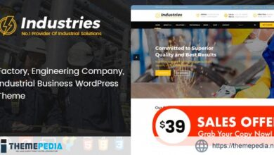 Industries – Factory and Industrial Business WordPress Theme [nulled]