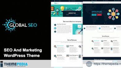 GLOBAL SEO – Marketing And Responsive WordPress Theme [Latest Version]
