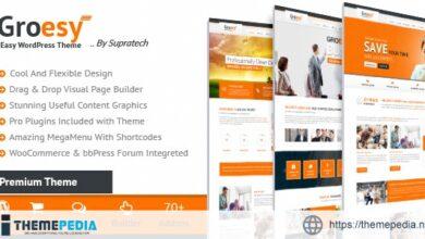 Groesy – Corporate Responsive Multi-Purpose WordPress Theme [Free download]