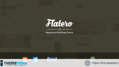 Flatero – Responsive WordPress Blog Theme [nulled]
