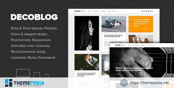 Decoblog – Lifestyle – Personal Blog Theme [Free download]