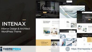 Intenax – Architecture WordPress Theme [Free download]
