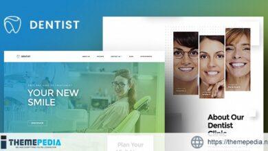 Dentist WP – Dental WordPress Theme [Free download]