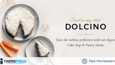 Dolcino – Pastry and Cake Shop Theme [Free download]