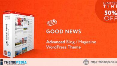 GoodNews – Blog & Magazine WordPress Theme [nulled]