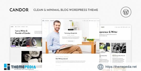Candor – Responsive WordPress Blog Theme [Free download]