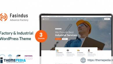 Industrial Fasindus – Industry Factory Theme [Free download]