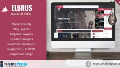 Elbrus – Responsive WordPress Magazine Theme [nulled]