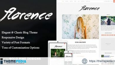 Florence – A Responsive WordPress Blog Theme [Updated Version]