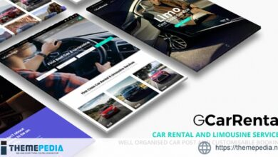 Grand Car Rental – Limousine WordPress [Free download]