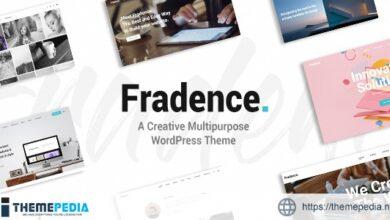Fradence – A Creative Multipurpose WordPress Theme [Latest Version]