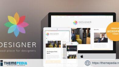 Designer – Blog Wordpress Theme [nulled]