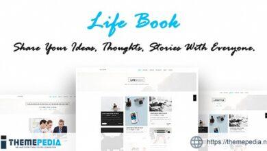 Life Book – Creative Personal Blog – WordPress Theme [nulled]
