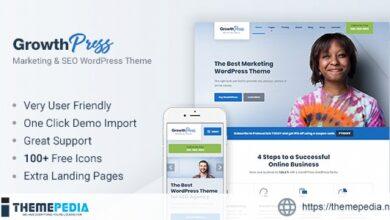GrowthPress – Marketing and SEO WordPress Theme [Free download]