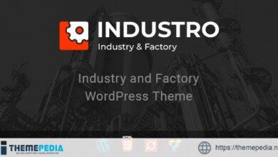 Industro – Industry & Factory WordPress Theme [Free download]