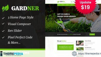 Gardener – Gardening and Landscaping WordPress Theme [Free download]