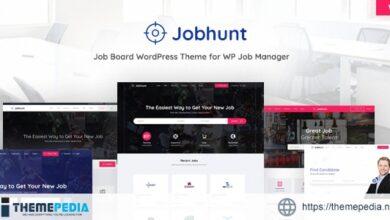 Jobhunt – Job Board WordPress theme for WP Job Manager [Latest Version]