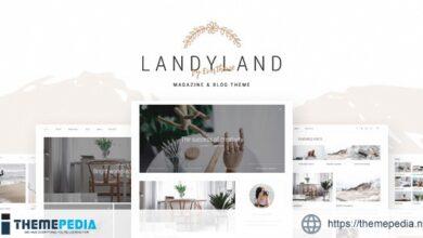 Landyland – Clean Blog Theme [Free download]
