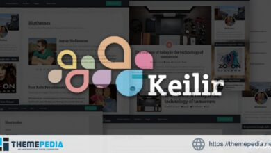 Keilir – Personal Wordpress Blog Theme [Free download]