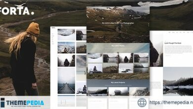 Forta – Photography WordPress Theme [Free download]