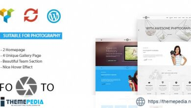 Footo Photography WordPress Theme [nulled]