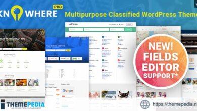 Knowhere Pro – Multipurpose Classified Directory WordPress Theme [Free download]