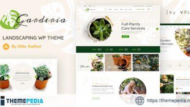 Garderia – Landscaping & GardeningWordPress Theme [nulled]