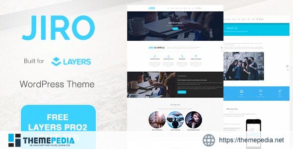JIRO – MultiPurpose Business WordPress Theme [Free download]