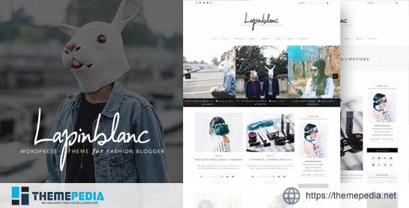 Lapin Blanc – Fashion Blog WordPress Theme [Free download]